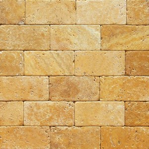 3x6 Antique Tuscany Gold tile