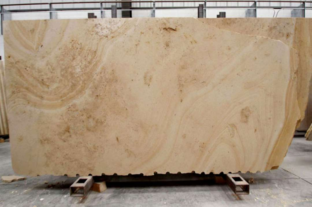 Travertine Stone Slabs : Beaumaniere limestone honed marble corp counter top