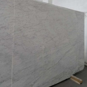 Carrara White C Extra Marble Polished Grey Slab