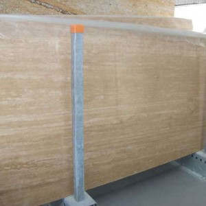 Classico Travertine Honed-Cross Cut Slab