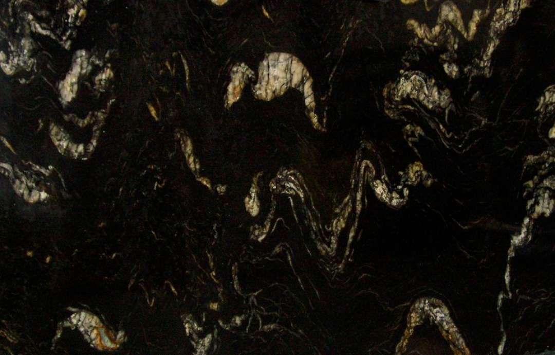 Cosmic Black Granite Polished Marble X Corp Counter