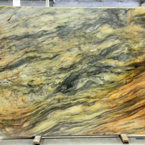 Fusion Quartzite Polished Green Slab