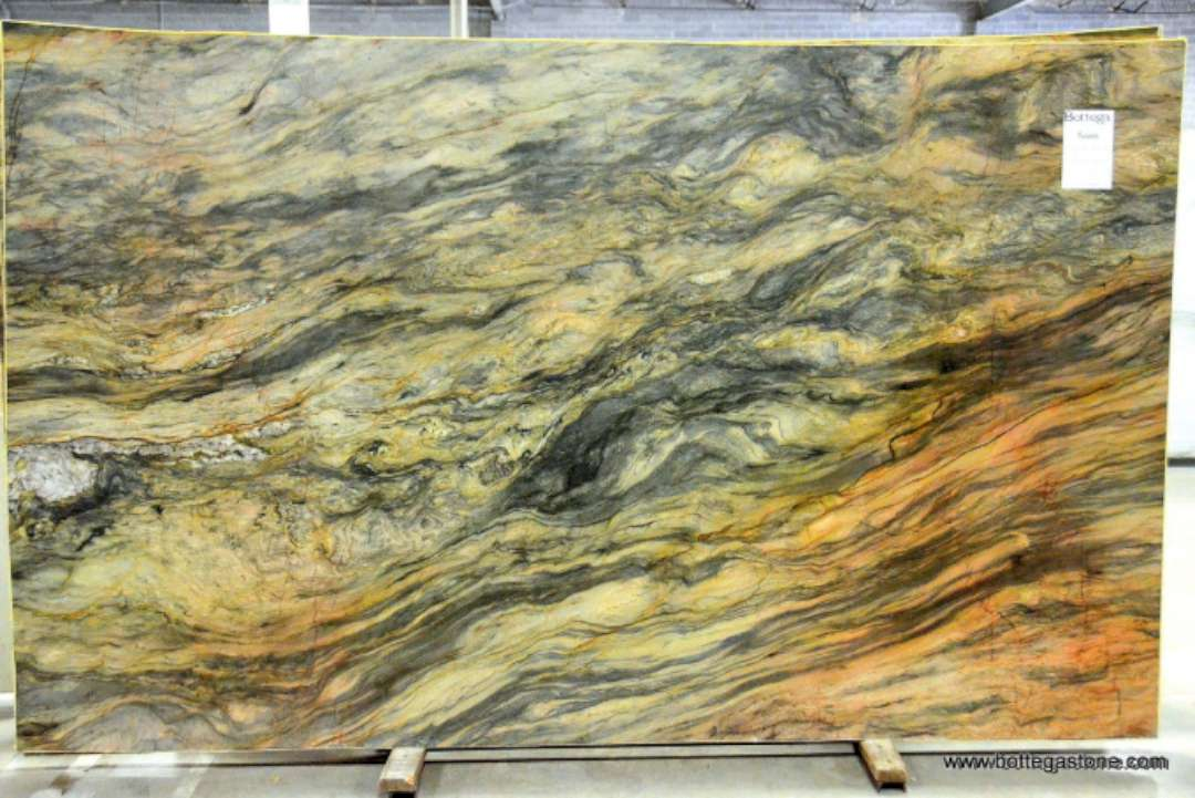 Green Water Marble Slabs : Fusion quartzite polished marble corp counter top