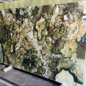 Kamarica Green Granite Polished Slab