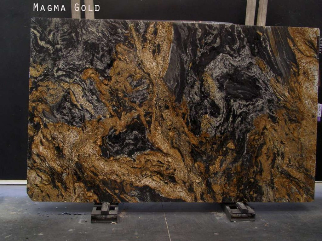 Marble And Granite Slabs : Magma gold granite polished marble corp counter top