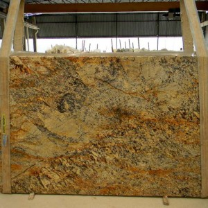 Persa Classico Granite (Golden Beaches) Polished Slab