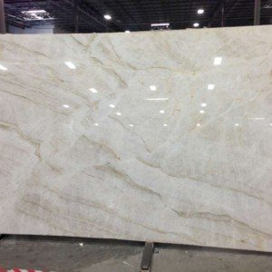 Taj Mahal Quartzite Polished Slab