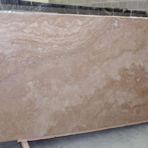 Tuscany Gold Travertine Honed Crosscut Slab