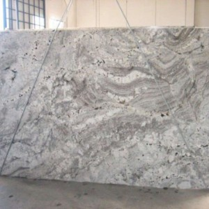 White Paradise Granite Polished White Slab