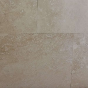 Travertine Classico Straight Edge Pattern