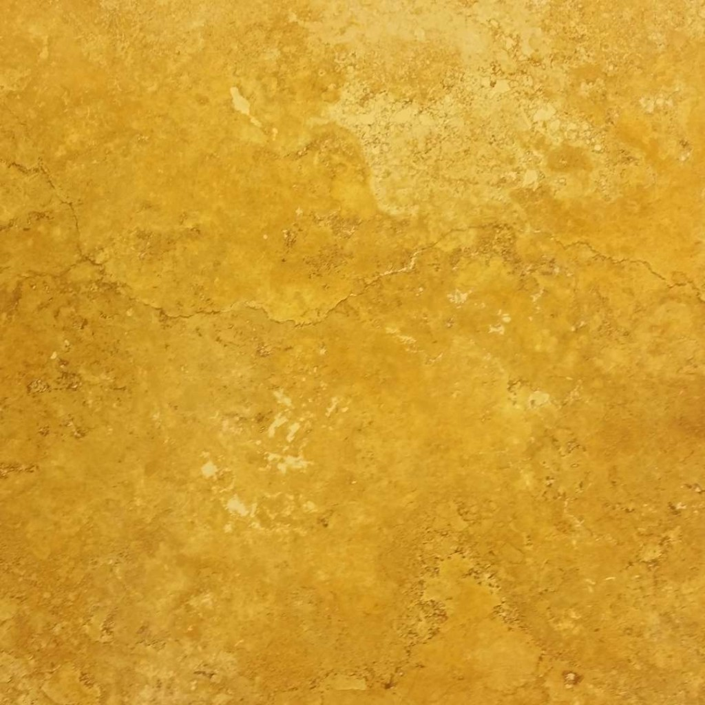 Tuscany Gold Travertine Honed Crosscut Marble X Corp Counter Top Slabs Floor